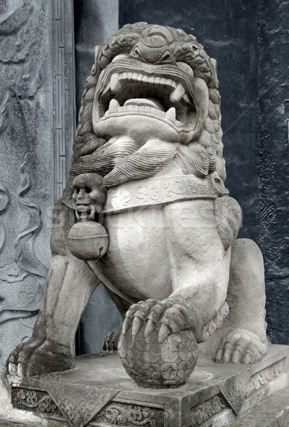 traditional chinese sculpture Stock photo © prill