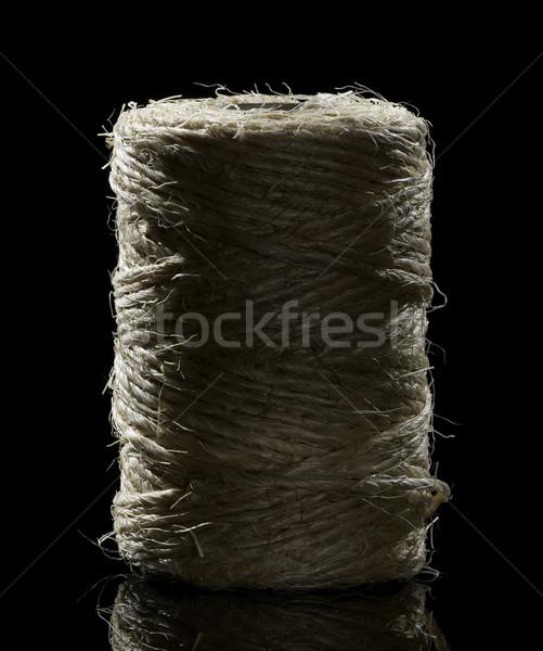 Manhattan sötét hát zenekar kötél textil Stock fotó © prill
