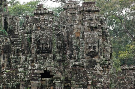 Angkor Wat detail Stock photo © prill