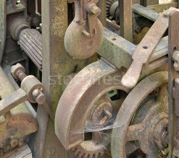 rusty machine detail Stock photo © prill