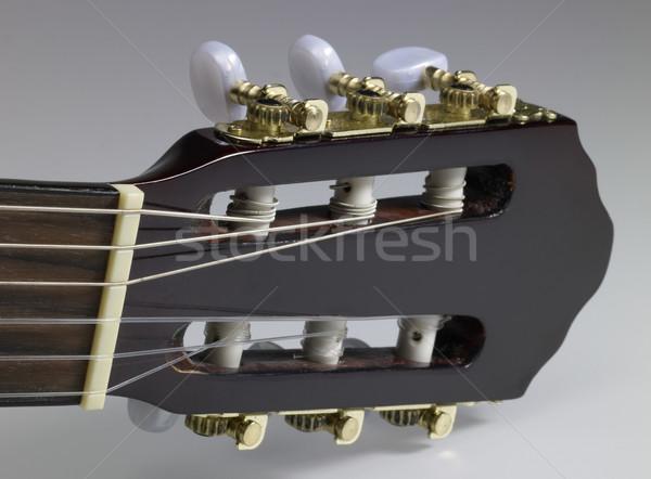 acoustic guitar headstock Stock photo © prill
