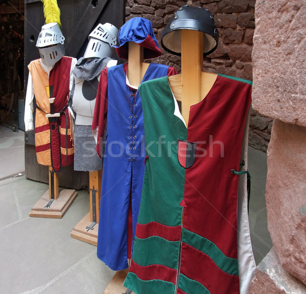 mediaeval tunics Stock photo © prill