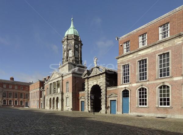 Dublin kastély Írország ház város épületek Stock fotó © prill
