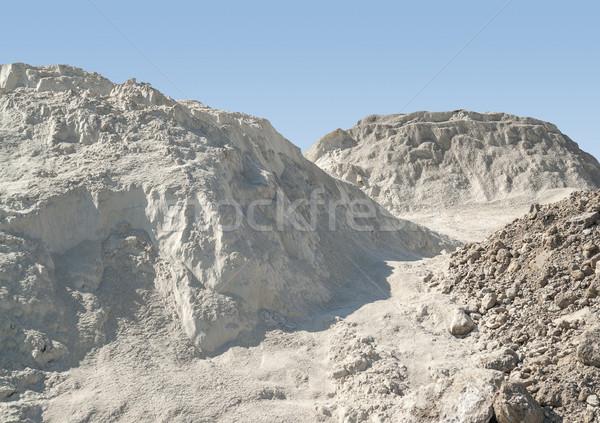 heap of earth Stock photo © prill