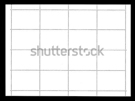 plain stamp Stock photo © prill