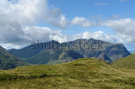 Scottish Highlands in sunny ambiance Stock photo © prill