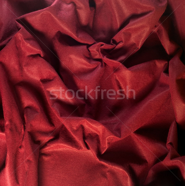 abstract red felt background Stock photo © prill