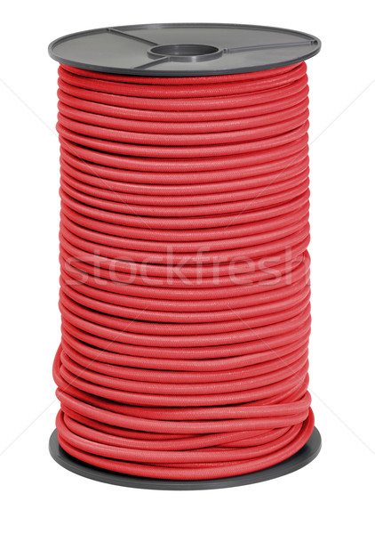 Stock photo: red rope