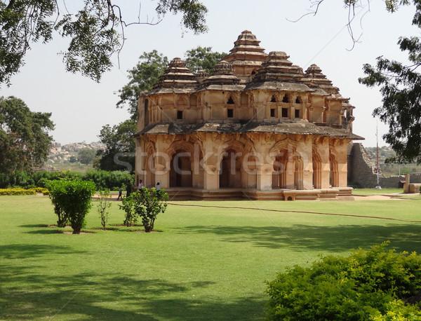 temple at the Cacred Center of Vijayanagara Stock photo © prill