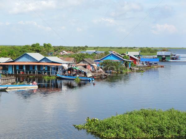around Tonle Sap Stock photo © prill