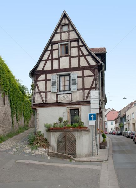 historic house in Oppenheim Stock photo © prill