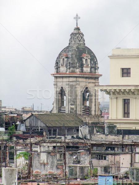 La Habana ciudad Cuba edificio arquitectura Foto stock © prill