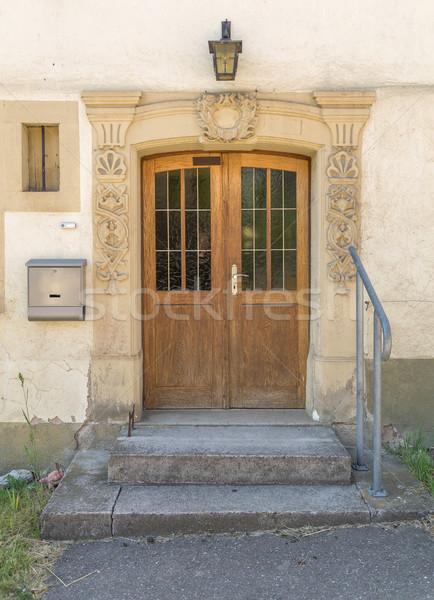 historic entrance Stock photo © prill