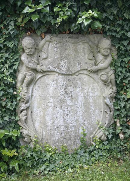decorative old memorial stone Stock photo © prill