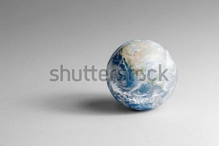 crystal globe Stock photo © prill