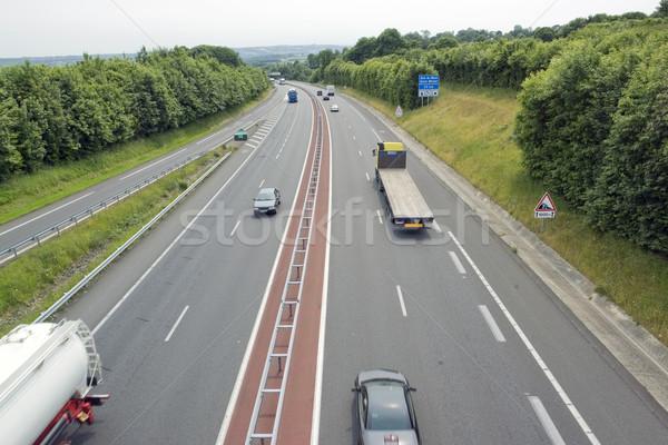 highway scenery in France Stock photo © prill