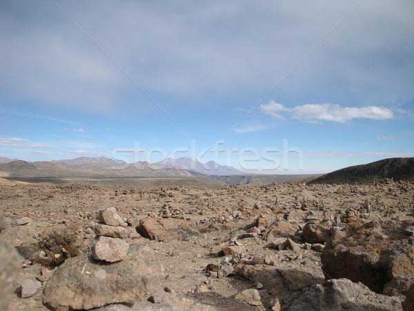 Andes around Puno Stock photo © prill