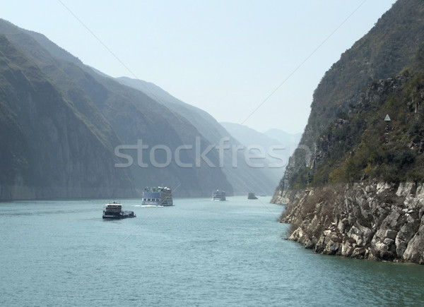 Yangtze River scenery Stock photo © prill