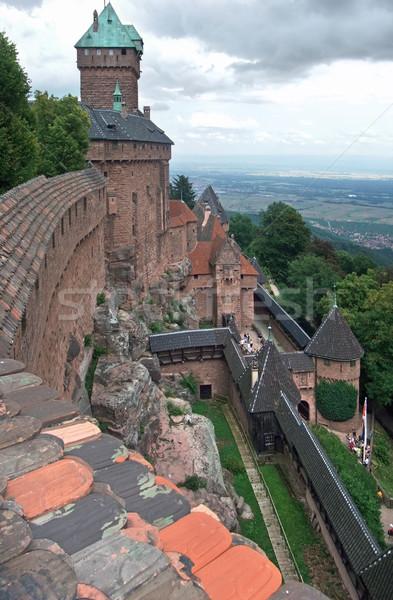 Haut-Koenigsbourg Castle in France Stock photo © prill