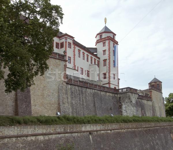 Fortezza castello costruzione costruzione pietra torre Foto d'archivio © prill