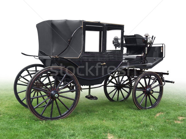 Stock photo: historic carriage