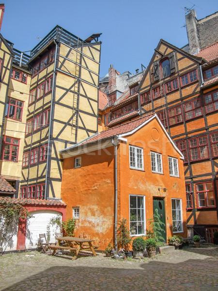 half timbered houses in Copenhagen Stock photo © prill