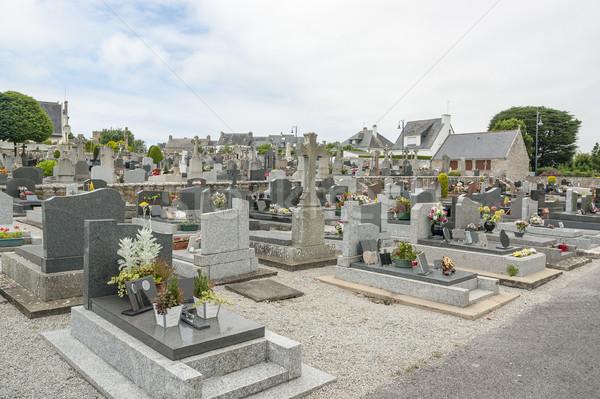 graveyard in Carnac Stock photo © prill
