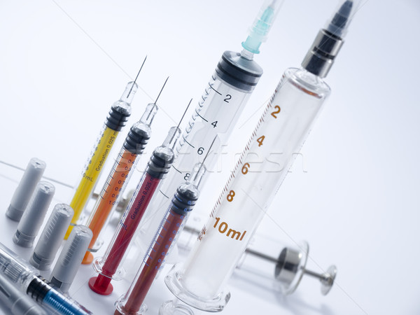 Different syringes Stock photo © Pruser