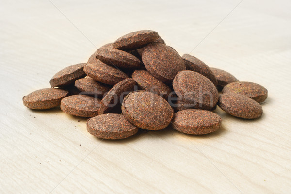 Food additive, plant-based tablets Stock photo © Pruser