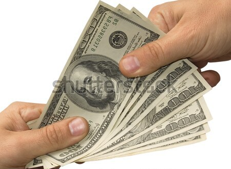 Hand over money the other hand Stock photo © Pruser