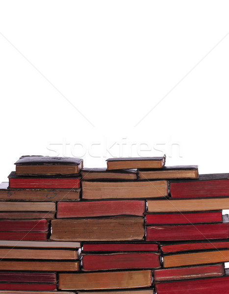 стены старые книгах науки Сток-фото © pterwort