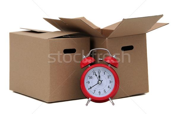 тревогу колокола два удаление окна домой Сток-фото © pterwort
