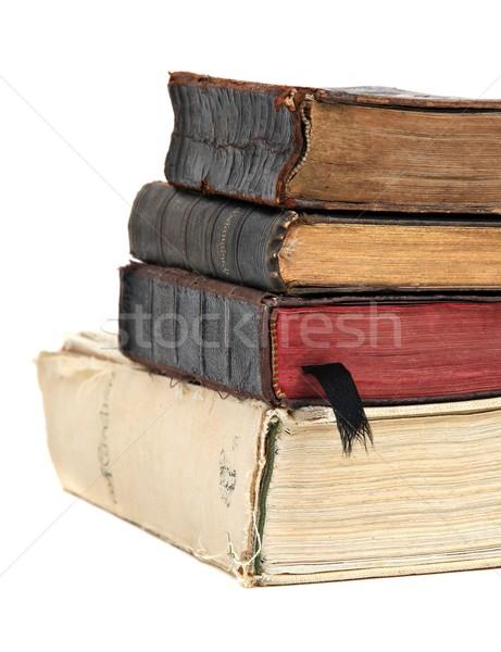 старые книгах бумаги Церкви Библии молитвы Сток-фото © pterwort