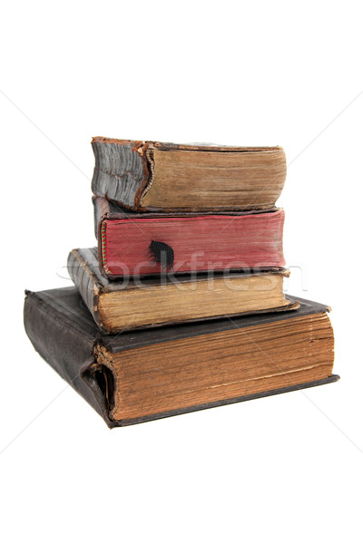 stack of old books Stock photo © pterwort