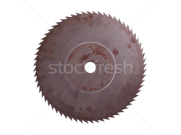 Vieux rouillée vu travaux industrie industrielle Photo stock © pterwort