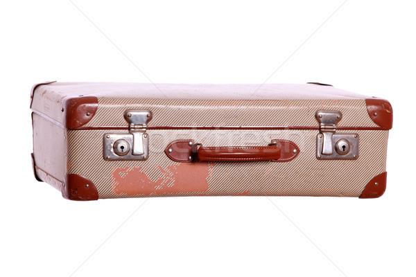 aged suitcase Stock photo © pterwort