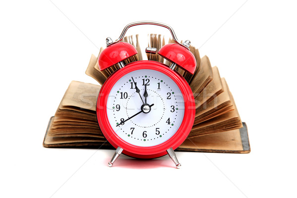 time for historic books Stock photo © pterwort