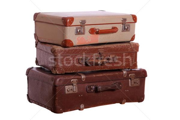 Maletas negocios cuadro viaje Foto stock © pterwort