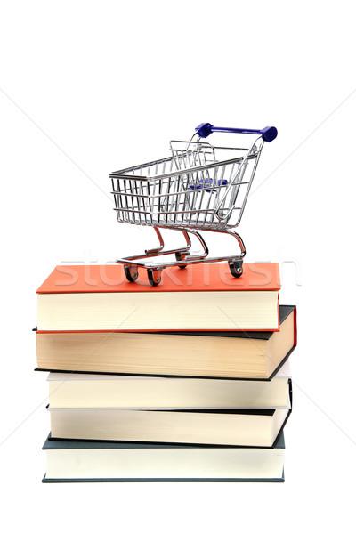 Librería negocios papel tiempo ciencia futuro Foto stock © pterwort
