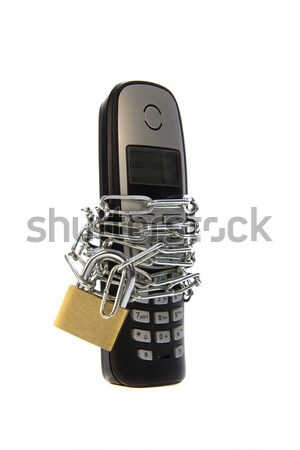 protected mobile phone Stock photo © pterwort