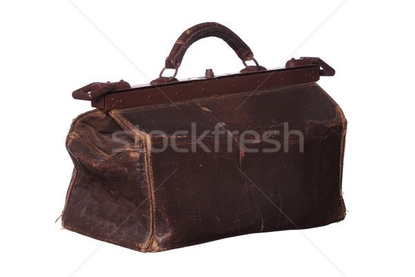 old medicine bag Stock photo © pterwort