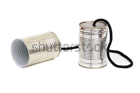 can telephones Stock photo © pterwort