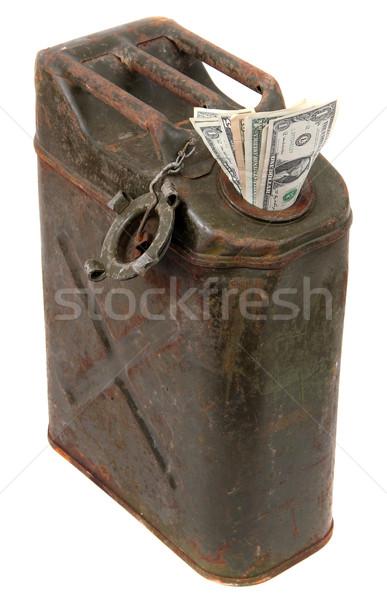 dollar notes and jerrycan Stock photo © pterwort