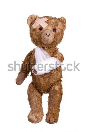 diseased teddybear Stock photo © pterwort