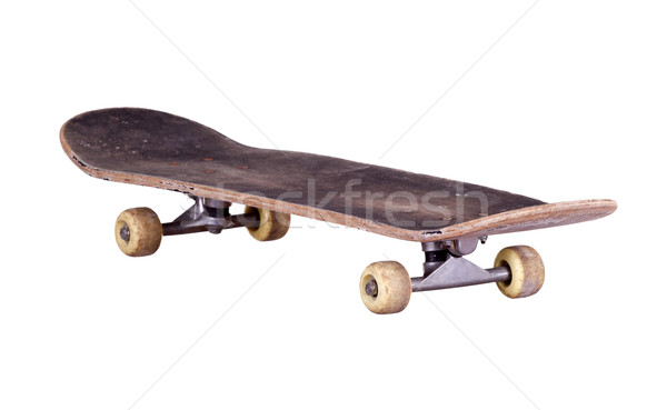 old used wooden skateboard Stock photo © pterwort