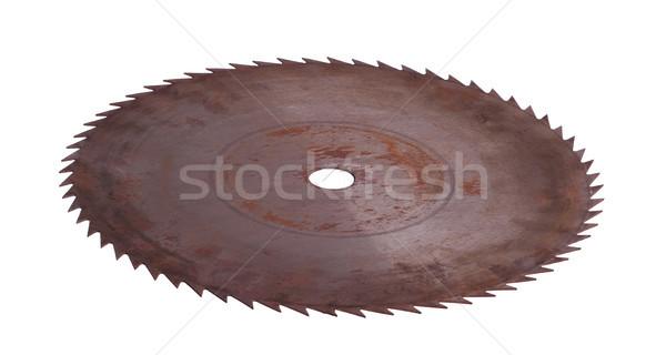 ржавые увидела работу промышленности промышленных зубов Сток-фото © pterwort