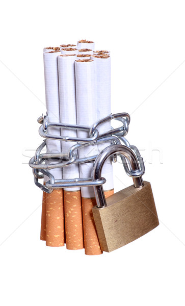 captured cigarettes Stock photo © pterwort