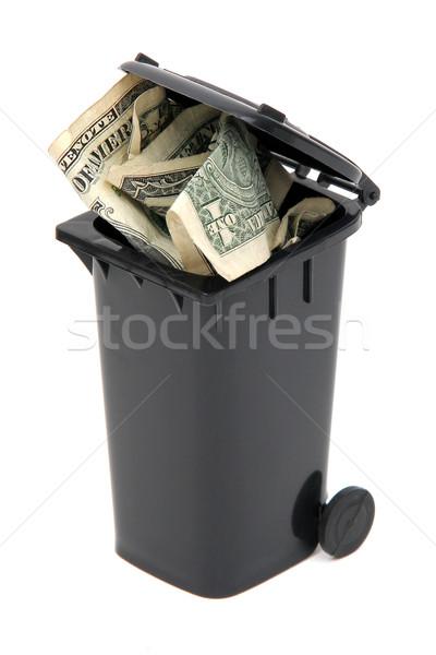 ストックフォト: ドル · ノート · 黒 · 白
