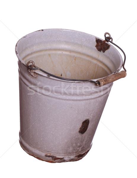 old empty bucket Stock photo © pterwort