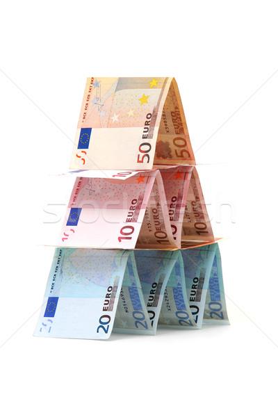 Otthon vétel megtakarított pénz pénzügy bank jövő Stock fotó © pterwort